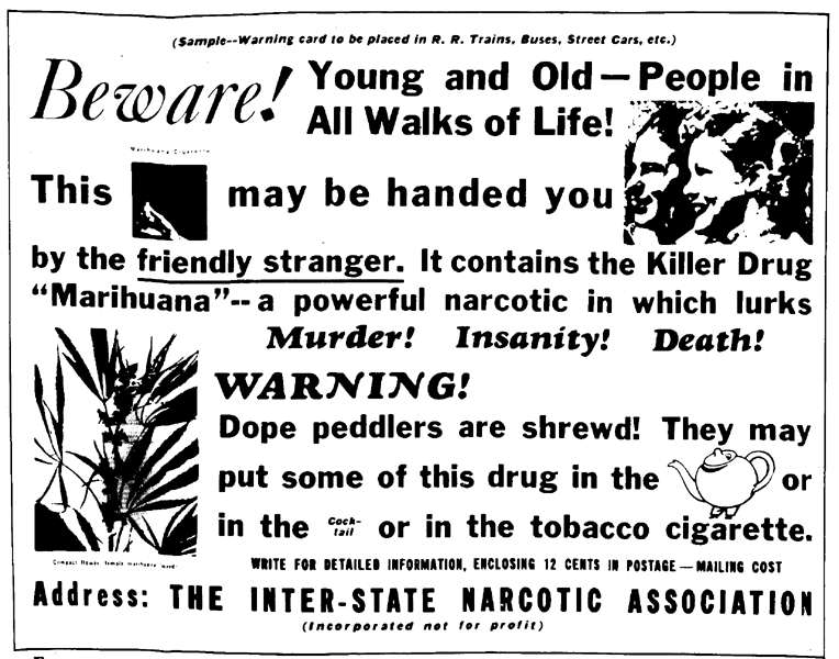 a history of marijuana in narcotic drugs Cannabis is one of the psychoactive substances included within the un drug  control regime, based on three treaties: the 1961 single convention on narcotic .