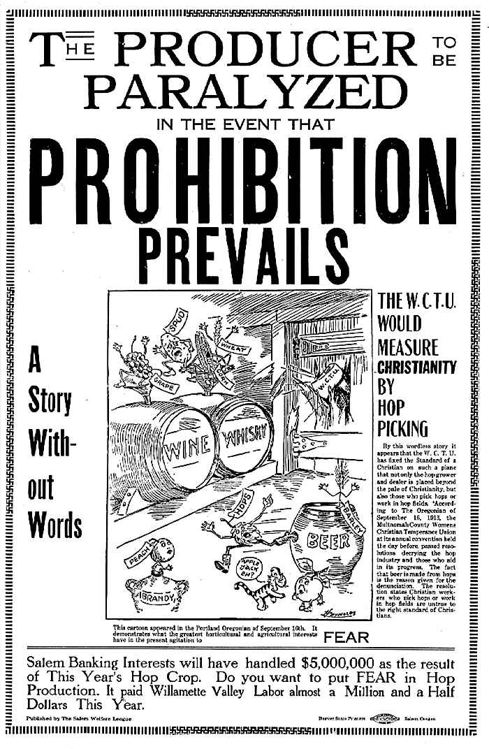 pro prohibition essays Created and maintained by the brown university library, providence, ri reviewed oct 15-nov 25, 2006 in the mid-1990s, the historian of prohibition k austin kerr created a web site entitled temperance and prohibition to provide an informed overview to the general reader the site is a series of.